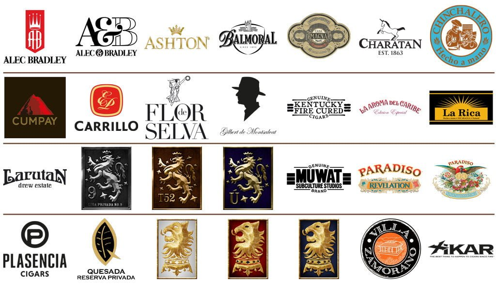 Brands im Portfolio von The Royal Cigar Company
