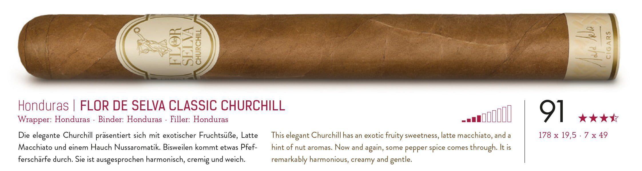 Flor de Selva Classic Churchill