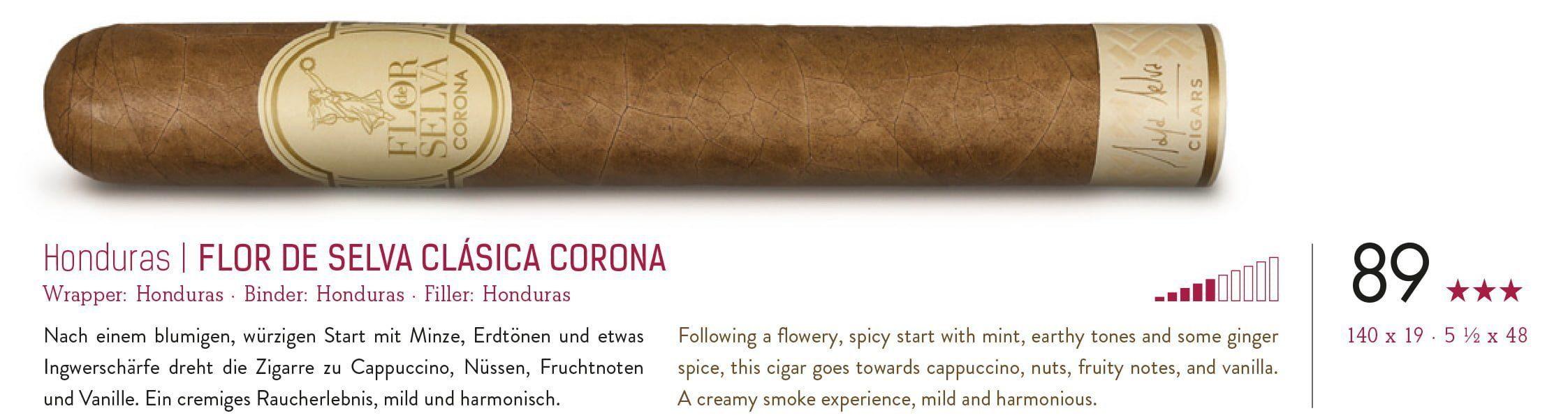 Flor de Selva Classic Corona