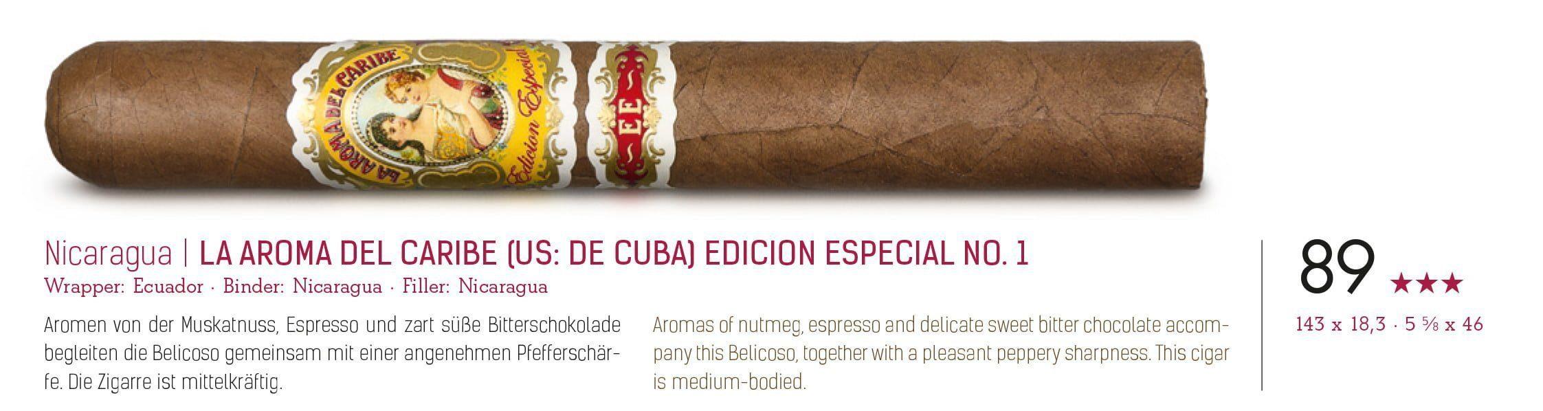 La Aroma del Caribe E.E. No.1