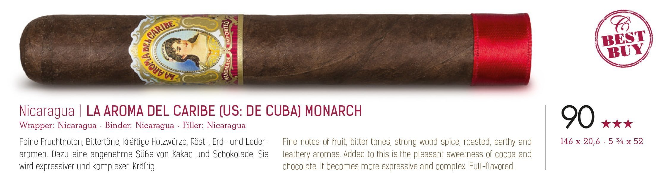 La Aroma del Caribe Monarch