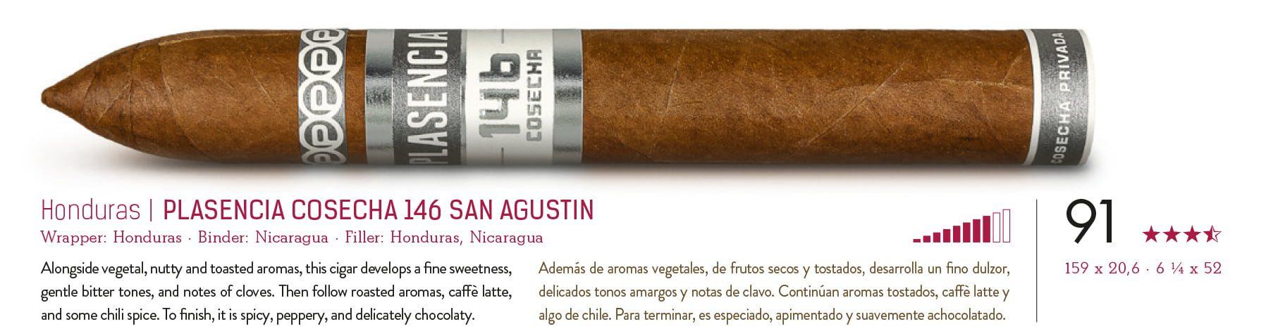 Plasencia Cosecha 146 San Agustin